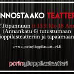 Liity mukaan ylioppilasteatterin toimintaan 15.9.!